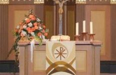Altar der Wössinger Kirche